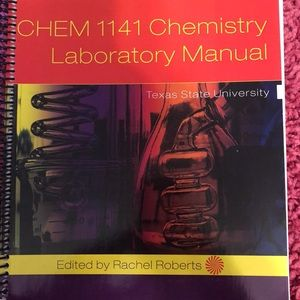 Chemistry lab book and notebook